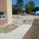 concrete sidewalk Brantford