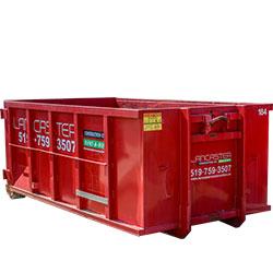 20 yard dumpster disposal bin